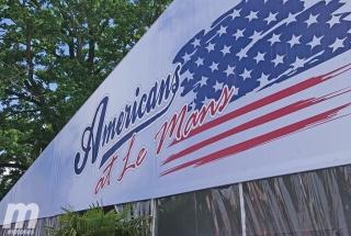 Exposición Americans at Le Mans
