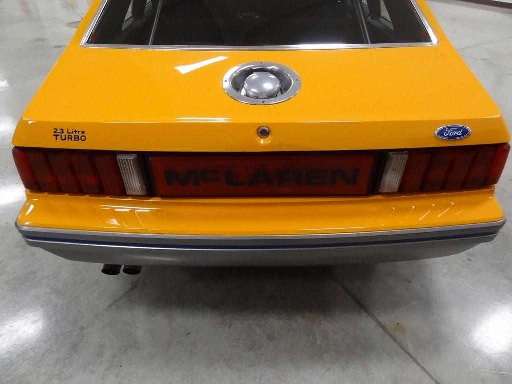 1980 ford mustang mclaren m81