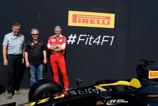 Neumáticos Pirelli F1 2017 - Foto 3