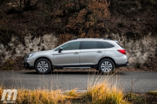 Prueba Subaru Outback 2.0D Lineartronic - Foto 1