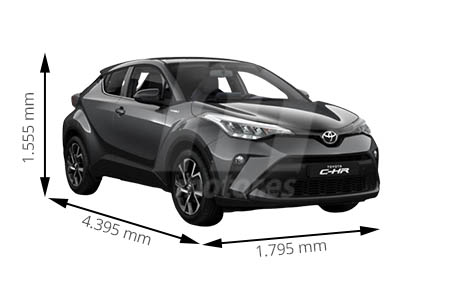 Medidas Del Toyota C Hr
