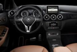 Más fotos del interior del Mercedes Clase B 2012