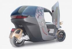 KTM presentó el E3W Concept