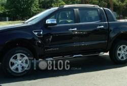 Fotos espías de la nueva Ford Ranger de producción