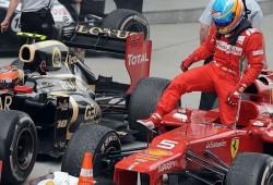 Fernando Alonso en el Gran Premio de China