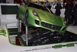 Ferrari patenta un sistema de propulsión híbrido convencional