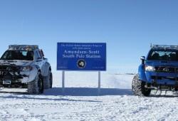 Toyota Hilux, de récord en la Antártida
