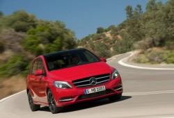 Mercedes B250: El Clase B más potente llega a España