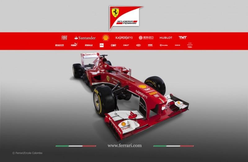 Ferrari F1 2013 F138 coche Alonso