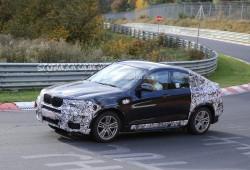 BMW X4 2015, de pruebas en Nürburgring