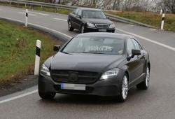 Mercedes-Benz CLS 2015, nuevas imágenes de su próximo facelift