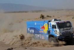 Un camión español del Rally Dakar, detenido con 1.400 kilos de cocaína