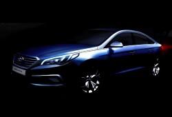 Hyundai Sonata 2015, primeras imágenes al natural