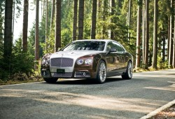Mansory lleva hasta los 900 CV al Bentley Flying Spur