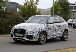 El Audi RS Q3 2015 se deja ver con su nuevo restyling