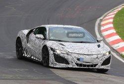 El nuevo Honda NSX descubierto en el circuito de Nürburgring