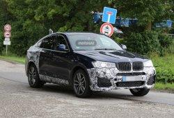 BMW X4 M40i, la versión más deportiva en camino