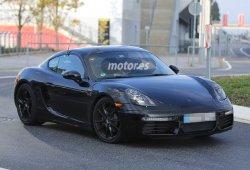 El Porsche Cayman 2016 descubierto sin camuflaje y de pruebas