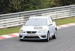 El SEAT León ST Cupra de pruebas por Nürburgring