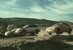 Subaru Warriors: Outback, Forester y XV en acción