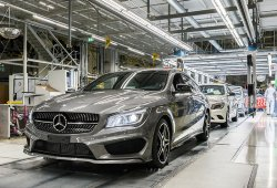 Arranca la producción del Mercedes CLA Shooting Brake
