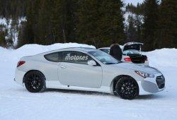 Hyundai Genesis Coupé 2016 ¡mula pillada!