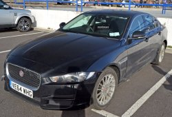 Jaguar XE E-Performance espiado en el Reino Unido