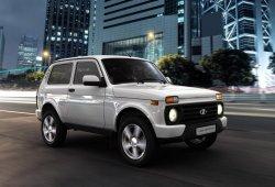 Rusia - Febrero 2015: El incombustible Lada 4x4 es el favorito