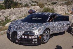 Bugatti Chiron, el sucesor del Veyron se deja ver en Nürburgring