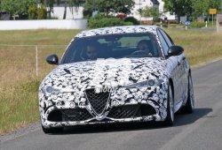 El Alfa Romeo Giulia Quadrifoglio Verde se pone a punto en Nürburgring