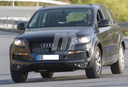 Avistada la mula del Volkswagen Touareg 2017
