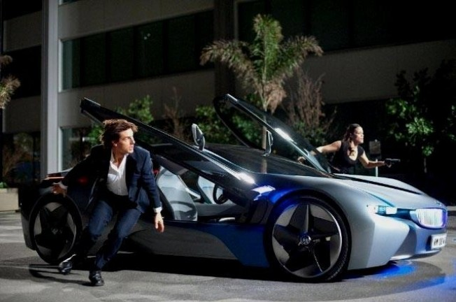 Ghost Protocol Cars Used