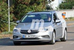 Opel Astra ST 2016, nuevas fotos espía