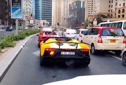 La fogata del medio millón de Euros patrocinada por Lamborghini
