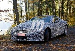 Descubierto el Lexus LF-LC Hybrid en las carreteras alemanas