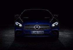 El Mercedes SL 2016 empieza a mostrar su nueva cara en un teaser