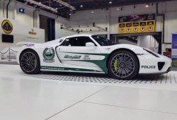 Porsche 918 Spyder, el nuevo juguete de la policía de Dubai