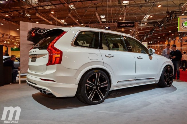 Tuning El Volvo Xc90 Gana M 250 Sculo Gracias A Heico Sportiv