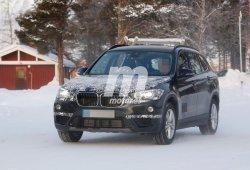 Descubrimos al BMW X1 2016 de plataforma extendida europeo en la nieve