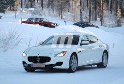 Maserati Quattroporte, cazado su facelift