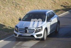 El Mercedes Benz GLA 2017 ya trabaja en su puesta a punto