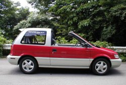 Mitsubishi RVR, el abuelo del ASX fue un monovolumen targa