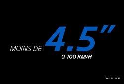 De 0 a 100 Km/h en menos de 4,5 segundos. Comparamos al Alpine con sus rivales