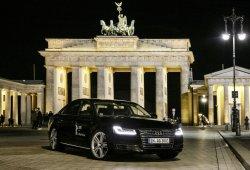 Un Audi A8 autónomo fue estrella de la Berlinale