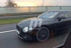 Bentley Continental GT 2018, primeras fotos espía
