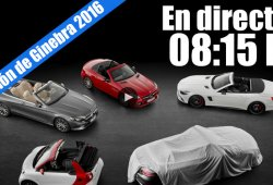 Ginebra 2016: la rueda de prensa de Mercedes-Benz en directo