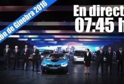 Ginebra 2016: sigue la rueda de prensa del Grupo BMW en directo
