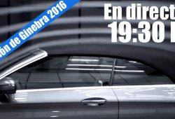 Ginebra 2016: sigue en directo la Mercedes-Benz Media Night