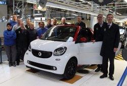 Se inicia la producción del smart ForTwo Cabrio 2016