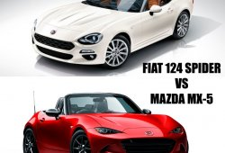 Fiat 124 Spider o Mazda MX-5 ¿Cuál me compro?